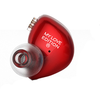 The Fragrant Zither 锦瑟香也 MY LOVE EDITION 限量纪念版HIFI发烧耳机 (红色、通用、动圈、入耳式)
