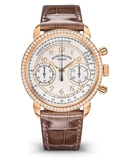 Patek Philippe 百达翡丽 复杂功能时计系列 7150/250R-001 手动上弦玫瑰金计时腕表