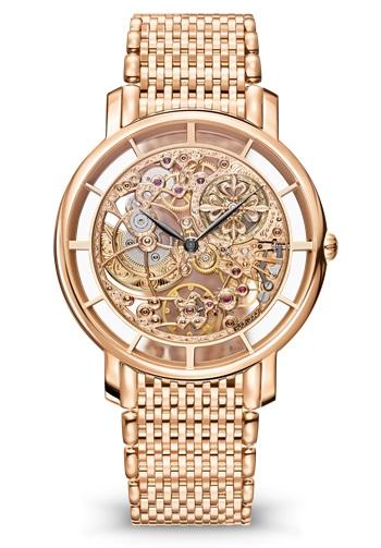 Patek Philippe 百达翡丽 复杂功能时计系列 5180/1R-001 玫瑰金镂空腕表