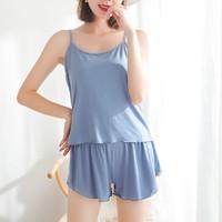 敏莲 ML-5001-1 女士家居服套装(吊带+短裤)