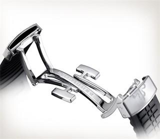 Patek Philippe 百达翡丽 AQUANAUT系列 5167A-001 日期显示黑色表带不锈钢腕表