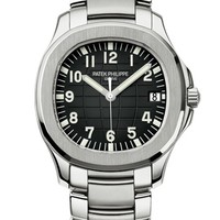 Patek Philippe 百达翡丽 AQUANAUT系列 5167/1A-001 日期显示不锈钢表链腕表
