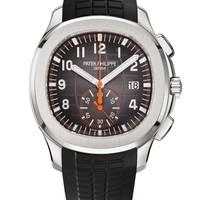 Patek Philippe 百达翡丽 AQUANAUT系列 5968A-001 不锈钢计时腕表