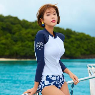 TOSWIM 拓胜 TS81120604003 女款泳衣三件套