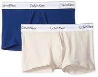 Calvin Klein 男式内裤现代棉质弹力内裤 *2件