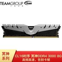 Team 十铨 冥神 8GB DDR4 3000 台式机内存条