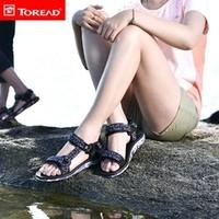 TOREAD 探路者 TFGG81740  女款沙滩鞋