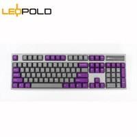 LEOPOLD利奥博德 FC900R PD 加厚PBT二色成型104键机械键盘(游戏键盘 高抗打油) MOON 红轴
