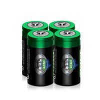 立烁 1号一号碳性干电池电池 4颗