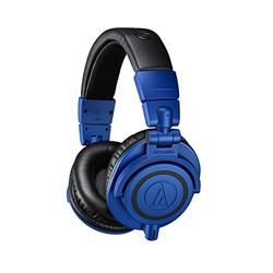 audio-technica 铁三角 ATH-M50X 监听耳机 蓝色