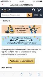 美国亚马逊 购买礼品卡