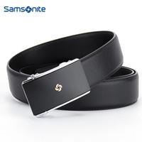 Samsonite 新秀丽 TK2*09002 男士自动扣皮带