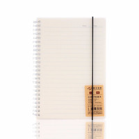SNSIR 申士 康奈尔线圈方格笔记本 A5/80张
