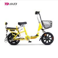 XDAO 小刀电动车 TDR-1602Z 电动自行车 拉丁黄