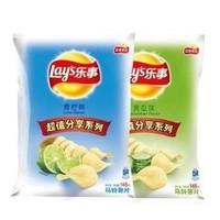 Lay's 乐事 薯片 黄瓜味 145g + 青柠味 145g