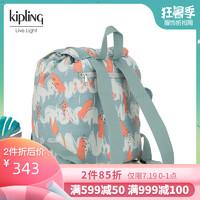 Kipling凯浦林女包2019新款休闲潮流双肩包布包 K15028