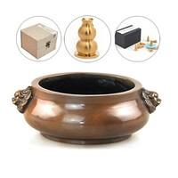 香道-黄铜仿古铜炉