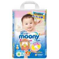 moony 尤妮佳 腰贴型拉拉裤 M58片 *3件