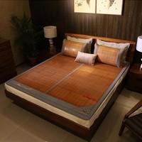 Mian 眠度碳化生态竹席+复合腾席双面可用凉席 1.5m