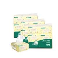PurCotton 全棉时代 婴儿纯棉柔巾 干湿两用 18包