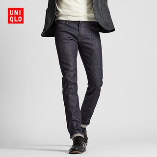 UNIQLO 优衣库 418910 男款弹力修身牛仔裤