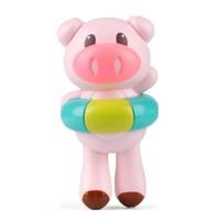 Dr.B 娃娃博士 卡通游泳猪 宝宝洗澡玩具