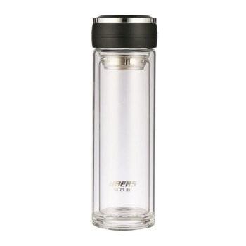 HAERS 哈尔斯 LBL-320-111 高硼硅玻璃杯 320ml 雅黑色