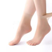 丹吉娅 女士短款丝袜 肤色5双装