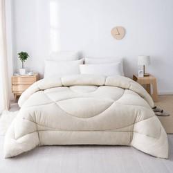 每晚 柔暖棉花春秋被 200*230cm 填充1500g *2件