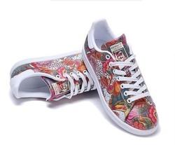 adidas Originals stanSmith BA7655 女子休闲板鞋 *2件