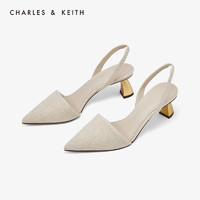 CHARLES&KEITH CK1-61680042 女士异形跟尖头高跟鞋