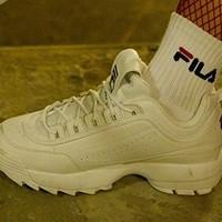 FILA 斐乐 DISRUPTOR 2 破坏者2 中性运动鞋