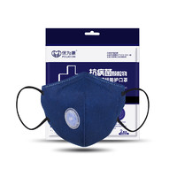 POWECOM 保为康 防尘口罩 N95带阀防雾霾 4只