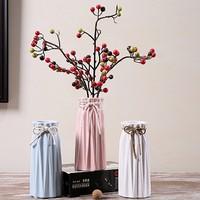 Hoatai Ceramic 华达泰陶瓷 现代简约陶瓷花瓶  小花瓶B款