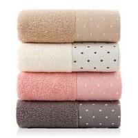 莱朵 纯棉毛巾 34*72cm*92g 共4条