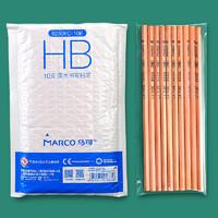 MARCO 马可 原木六角杆铅笔 HB 10支
