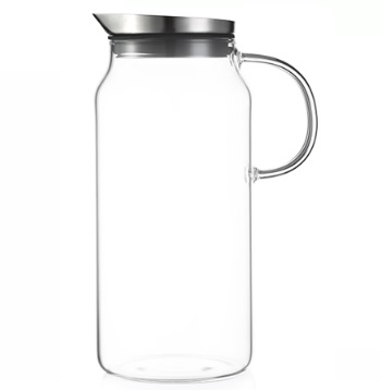 京东京造 JZ-CB05 高硼硅玻璃杯 1300ml 透明