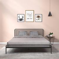 Zinus 际诺思 横条纹铁艺床 1.5m床