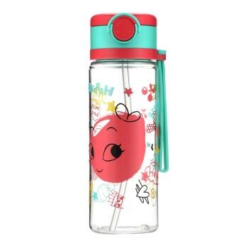 佳佰 KP431A Tritan塑料杯 360ml 红色