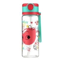 佳佰 KP431A Tritan塑料杯 360ml 红色 *4件