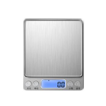 荣龟 i2000 电子秤克称 (银色、USB;干电池)