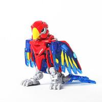 52TOYS 猛兽匣系列 BEAST BOX 回音爆手 鹦鹉 变形玩具