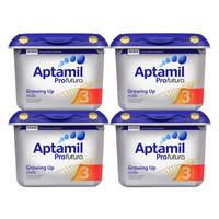 Aptamil 英国爱他美 白金版 婴儿奶粉 3段 800g 4罐装