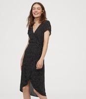 H&M DIVIDED HM0714828  女士V領收腰連衣裙