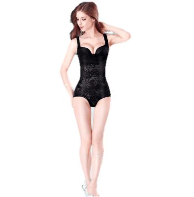 美·雅·挺 塑身衣束身束腰美体瘦身衣  产后收腹提臀连体 后脱款 3030 黑色 M(110-130斤)