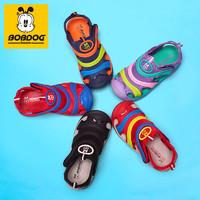 BoBDoG 巴布豆 儿童包头凉鞋