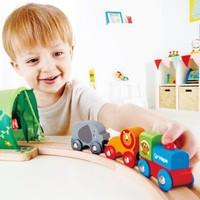 Hape  火车轨道玩具丛林宝贝轨道车 *2件