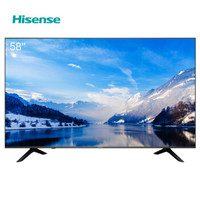 Hisense 海信 H58E3A 58英寸 4K 液晶电视