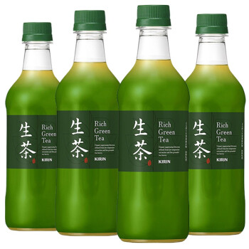 KIRIN 麒麟 生茶绿茶饮料 (525ml*4瓶)