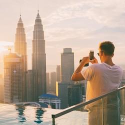 全国多地-马来西亚兰卡威+吉隆坡7天6晚自由行(3段机票,4+2双酒店体验)